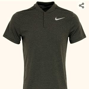 Nike Aeroreact Golf Shirt Whistler Club Dry Wick